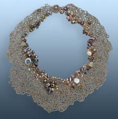 "Contemporary Jewelry - ""Sea Fan"