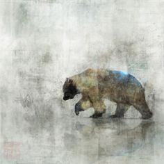 Ken Roko Bear Spring 03: Giclee Fine Art Print 13X19 Please Check out more images from Etsy.com: https://www.etsy.com/ca/shop/krokoart?section_id=12474863