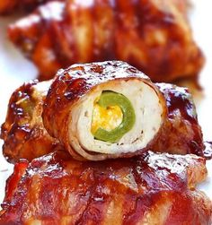 Recette de bombe au poulet et bacon sur le BBQ!