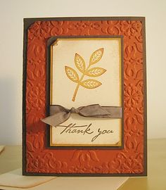 thank you #stampinup