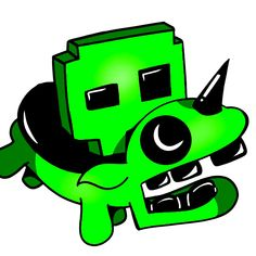 Dash Image, Yoshi, Geometry, Beast, Shapes, Fictional Characters, Gd, Minecraft, Free