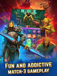 Spellblade: Match-3 APK v0.3.1 [Mod] - Android game - Android MOD Game