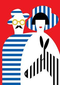 Olimpia Zagnoli | Lagom Design graphic design poster