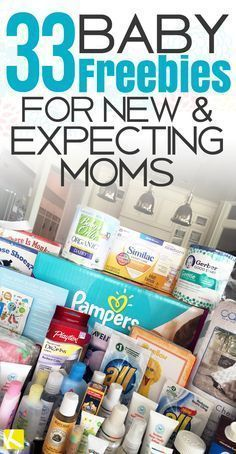 33 Baby Freebies for New & Expecting Moms
