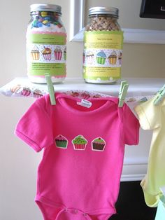Two Story Cottage: Cupcake Themed Baby Shower