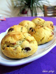 Dukan gotuje: Maślane ciasteczka z czekoladą