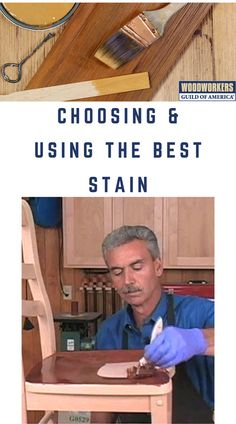 Jim Heavey from WOOD Magazine continues the 3 part process of creating the perfect finish with some great tips for choosing, testing and using wood stain. Woodworking Techniques, Woodworking Projects, Wood Finishing, Wood Magazine, Wood Stain, Wood Carvings, Wood Projects, Wood Working, Confidence
