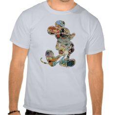 Comic Art Mickey Mouse Tee Shirts #mickeymouse #disney #mickey