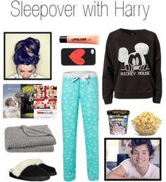 Sleepover with Harry