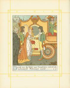Asschepoester/ [Charles Perrault] ; opnieuw verhaald door G. van der Hoeven ; geïll. door W.C. Drupsteen. - [Amsterdam] : D. Coene & Co., [1907].Sign. Ki 6424
