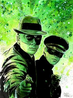 The Green Hornet & Kato by Chris Mason