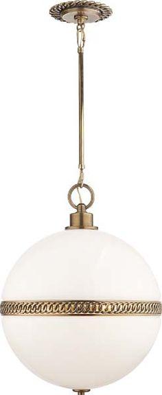 Circa Lighting HENDRICKS LARGE GLOBE PENDANT in pantry