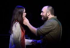 Sutton Foster's with Alexander Gemignani