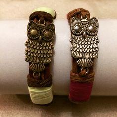 #zoecreations #pr #bracelets #pulseras #buhos #jewelry