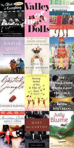 If you love Sex and the City, you'll love these books!  - Summer Sisters is one of my favs!