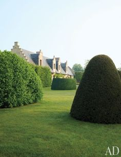 A Heavenly Home and Garden in Belgium, Jacques Wirtz