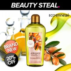 [ECO ENNEA] Argan Moisture Body Oil $10.00