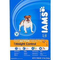 Iams ProActive Health Adult Weight Control Formula Dry Dog Food ** Awesome dog product. Click the image : Dog food brands