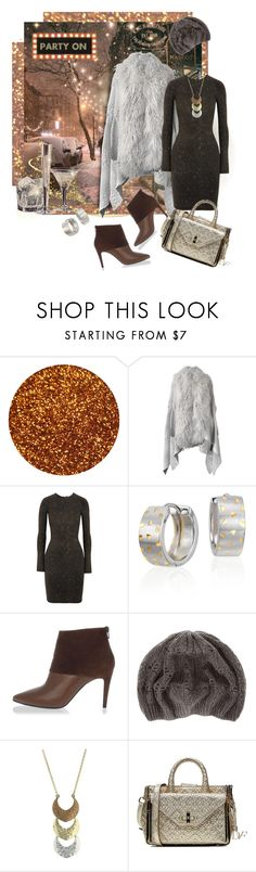 """""""Long Sleeve Dress for December Party"""" by valeria-mezhevikina ❤ liked on Polyvore featuring Opening Ceremony, Blue Nile, Pierre Hardy, claire's, Lucky Brand, Diane Von Furstenberg, ankleboots, OpeningCeremony, cape and longsleeve"""