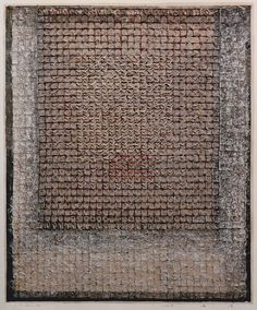 D-20.Dec.199673.3x60cmmixed media/paper making, painting, collage林孝彦 HAYASHI Takahiko 1996