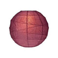 Boysenberry Red 14 Inch Round Premium Paper Lantern ($3.75) ❤ liked on Polyvore featuring home, home decor, fillers, lanterns, purple, red fillers, red lantern, red home accessories, purple home decor and purple paper lanterns