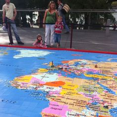 A 1 Million Piece Lego Map Of The World. Truly #geotastic by Vicchi, via Flickr