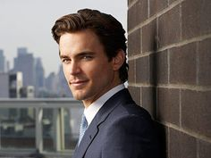 Holy hell. Those eyes!! Matt Bomer from White Collar