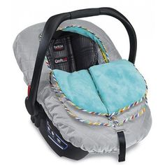 <p>The Britax B-Warm Insulated Infant Car Seat Cover is great for those cold weather days when you want to keep your baby comfortable and protected on the go. The B-Warm offers flip-up sides & a zippered snap closure to help regulate baby's temp