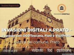 #InvasioniDigitali il 27 aprile alle ore 14.30 Invasori: a spasso con GGD Toscana, Flod e Visit Prato