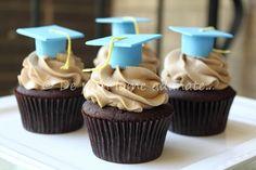 Mocha Cupcakes with White and Dark Chocolate