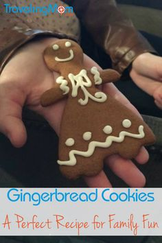 Nothing tastes like Christmas as much as a gingerbread cookie. After visiting the sweet creations at the Grove Park Inn's National Gingerbread Competition, bake your own delicious treats with your family. Enjoy a recipe that's delicious and easy!