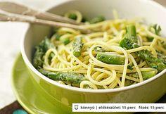 Zöld istennő tészta
