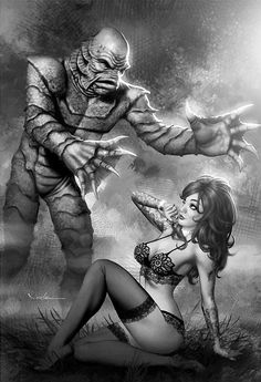Creature from the Black Lagoon - Carlos Valenzuela
