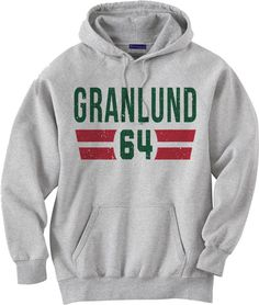Mikael Granlund Officially Licensed NHL Minnesota Wild by 500LEVEL | I NEED this!!!!!