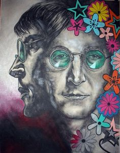 John Lennon POP ART By Eric Eric.