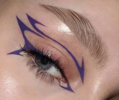 Indie Makeup, Edgy Makeup, Makeup Eye Looks, Grunge Makeup, Eye Makeup Art, No Eyeliner Makeup, Skin Makeup, Makeup Inspo, Makeup Inspiration