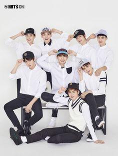 EXO - Les casquettes sont de sortie.. ^-^