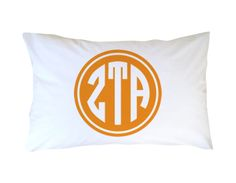 #ZetaTauAlpha #Sorority Pillowcase Filled | Dorm Suite Dorm
