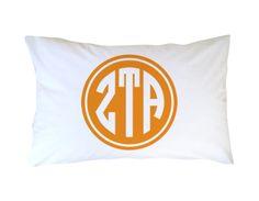 #ZetaTauAlpha #Sorority Pillowcase Filled | Dorm Suite Dorm