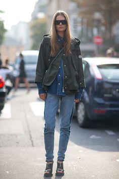 Model Street Style : Photo