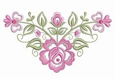 Dainty Roses 6 - 2 Sizes! | What's New | Machine Embroidery Designs | SWAKembroidery.com Ace Points Embroidery