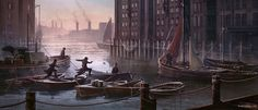Thames River Parkour - Characters & Art - Assassin's Creed Syndicate