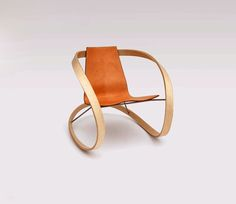 The Ribbon Rocking Chair by Katie Walker is a beauty. My Furniture, Unique Furniture, Furniture Design, Cool Chairs, Line Design, Chair Design, Really Cool Stuff, Cool Designs, Grand Designs