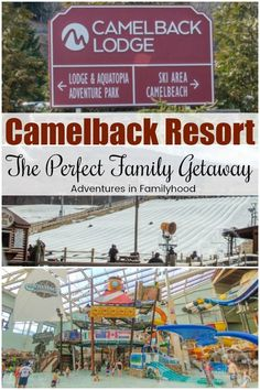 Experience the best of both winter and summer at Camelback Resort in the Poconos. Its the perfect family getaway. Spring Break Destinations, Family Vacation Destinations, Vacation Ideas, Travel Destinations, Vacations, Vacation Spots, Winter Beach, Family Getaways, Need A Vacation