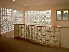 blocos de tijolo de vidro para parede e bancadas