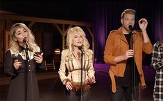 """Grammy-winning a cappella group Pentatonix delivered a special rendition of Dolly Parton's hit """"Jolene"""" with an added bonus: The Queen of Country herself."""