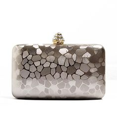 Women's Simple Design Stone Pattern PU Evening Handbag Clutches 2844381 2017 – $18.89