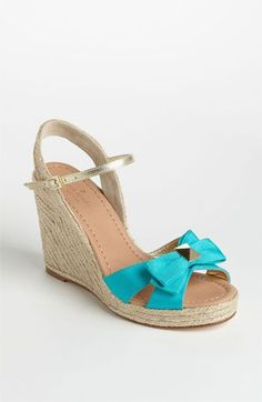 kate spade new york 'carmelita' wedge sandal available at #Nordstrom