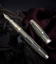 http://estilograficabcn.blogspot.com.es/  Conway Stewart Plumage Elegance Series LE Fountain Pen