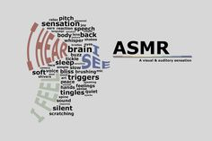 Sleeplessness is an issue that affects hundreds of thousands of people every night. Ever tried ASMR to try and solve your problem? First of all, what is ASMR? Autonomous Sensory Meridian Response, Asmr Video, Medical, Make Me Happy, No Response, Brain, Stress, Mindfulness, Positivity